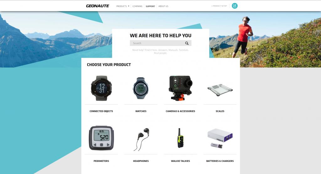 geonaute ecom zendesk design